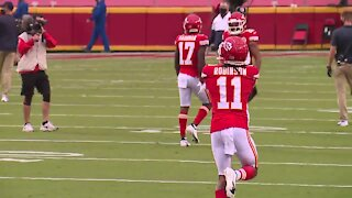 Chiefs WR Demarcus Robinson carves out role despite talented roster