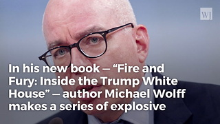 Author Of New Book On Trump Wh I Can't Be Sure If Everything I Wrote Is True - Video