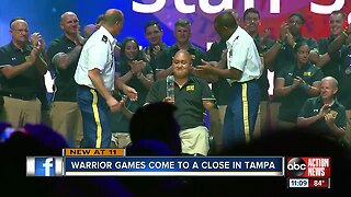 Warrior Games end in Tampa