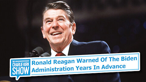 Ronald Reagan Warned Of The Biden Administration Years In Advance