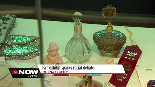 Medina County resident says fair display is racist - Video