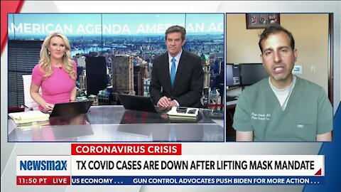 Covid Cases Down in TX After Lifting Mask Mandate