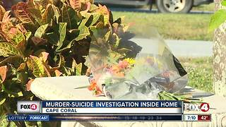 Neighbor honors victim in Cape murder-suicide - Video