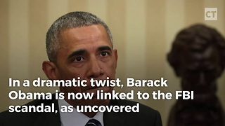 Explosive Text Links Obama to Clinton Email Probe