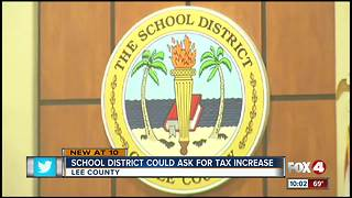 Sales tax increase could be proposed for Lee County