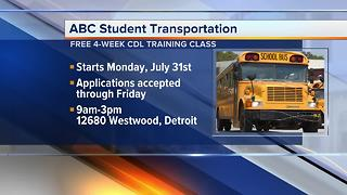 ABC Student Transportation, Inc. now hiring at least 65 school bus drivers for 2017-2018 school year - Video