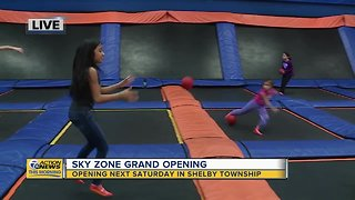 SKY ZONE Opening Soon in Shelby Township