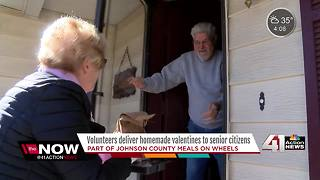 JoCo Meals on Wheels delivers Valentines - Video
