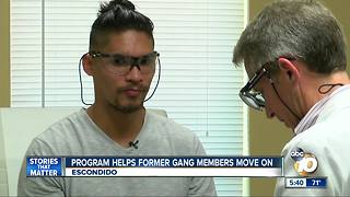 Program helps former gang members move on - Video