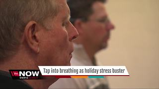 Tap your holiday stress-busting superpower: Breathing