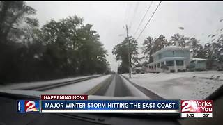 Nor'easter 5pm Report - Video