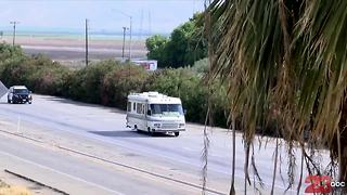 RV Chase through Kern County just south of Bakersfield - Video