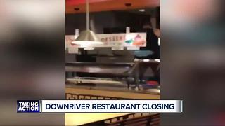 Metro Detroit restaurant shuts down after manager caught dancing on buffet - Video