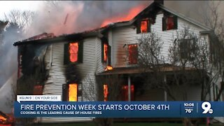 Cooking is leading cause for house fires in U.S.