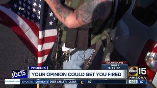 Could your political opinions get you fired? - Video