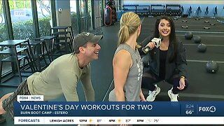 Valentine's Day workouts for two