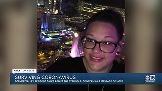 Woman speaks out after surviving coronavirus