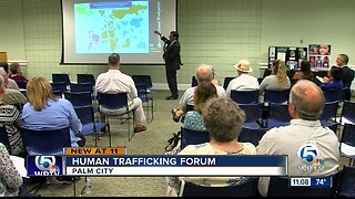 Human trafficking forum held in Palm City