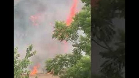 Fire Rages Through NSW Property as Firefighters Struggle to Contain Blaze