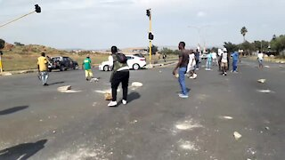 SOUTH AFRICA - Johannesburg - Freedom Park Protest (videos) (AZ8)
