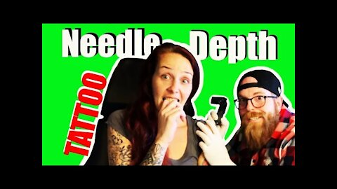 ✅How To Tattoo: Find the CORRECT needle depth for you🩸!!