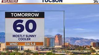 Chief Meteorologist Erin Christiansen's KGUN 9 Forecast Thursday, December 1, 2016