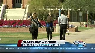 Those with a bachelor's degree earn $22,000 more per year than those who don't - Video