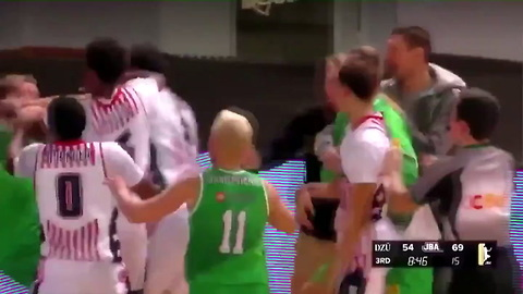 Watch Lamelo Ball Sparks Bench-clearing Brawl By Hitting Opponent
