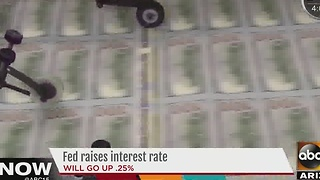 Feds raise interest rate by a quarter of a percent - Video