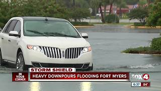 more heavy flooding fort myers - Video