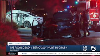 1 killed in Clairemont collision