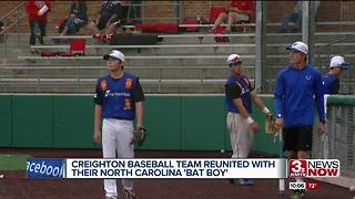 Prep baseball team gets special visit - Video