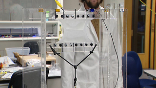 Creating artificial muscle technology could revolutionize robotics, prosthetics - Video
