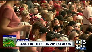 Fans excited for upcoming football season - Video