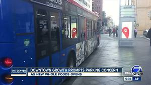 Downtown growth in Denver raises questions about parking - Video
