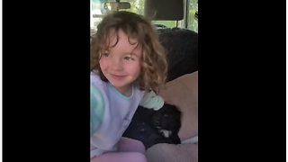 Sweet Girl Has Adorable Reaction To New Puppy Surprise