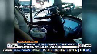 Hungry RTC bus driver suspended after kicking passenger off bus, caught eating while driving