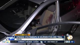 Opening statements begin in murder-for-hire trial - Video