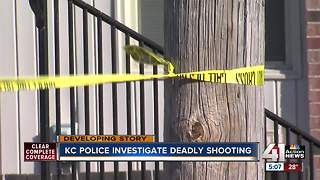 Woman killed in S. KC shooting - Video