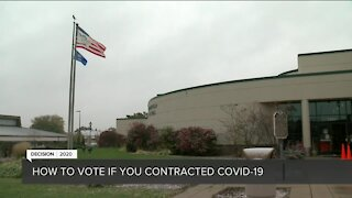 Have COVID-19 and haven't voted? Here are your options