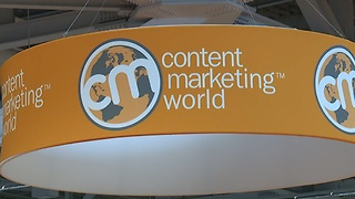 Content Marketing World Convention takes over Cleveland - Video
