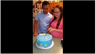 Baby Gender Reveal Comes With An Expected Twist - Video