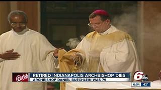 Retired Indianapolis Archbishop Daniel Buechlein dies at age 79 - Video