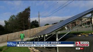 Solar power becoming more common in metro