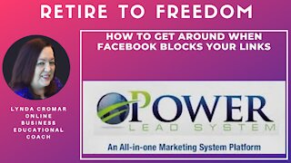 How To Get Around When Facebook Blocks Your Links