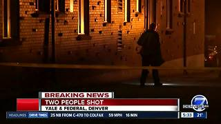 Two wounded in Denver shooting; police searching for suspect - Video