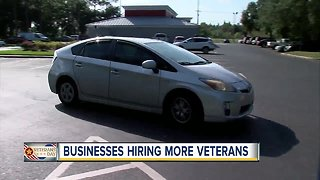 Delivery service hiring more veterans, spouses - Video