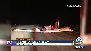 Hard landing at Treasure Coast airport