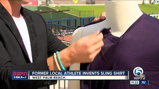 Former Local Athlete invents Sling Shirt