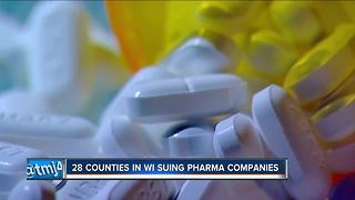 Wisconsin lawsuit blames drug makers for opioid crisis - Video